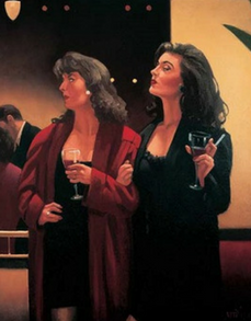 Girls Night Signed Print jack Vettriano