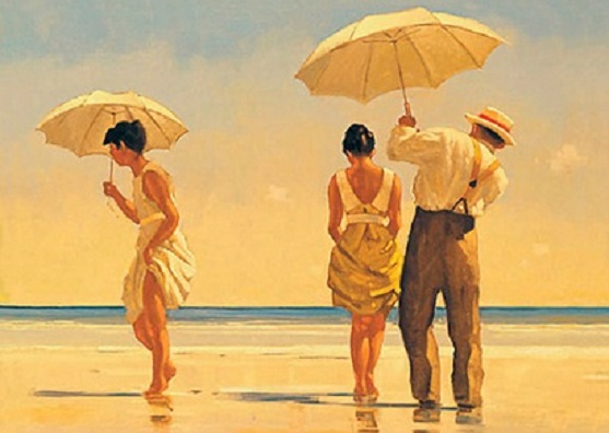 Mad Dogs Open Edition Print Jack Vettriano