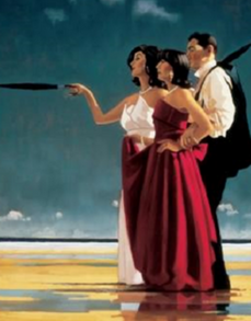 Missing Man Jack Vettriano Limited Edition Print