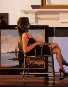 Model & The Drifter Jack Vettriano