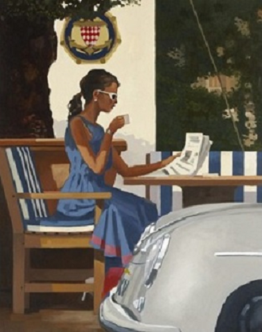 Morning News Jack Vettriano Limited Edition Print