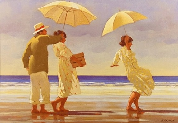 Picnic Party Open Edition Print Jack Vettriano