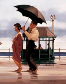 The Shape Of Things To Come Open Edition Print Jack Vettriano