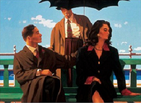 Someone Else's Baby Open Edition Print Jack Vettriano