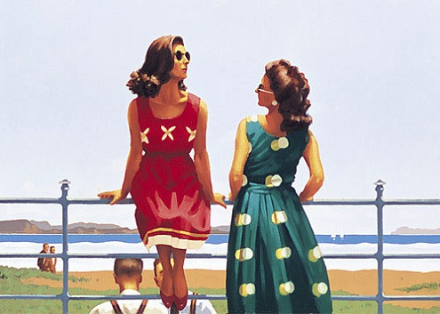 Something in the Air Open Edition Print Jack Vettriano
