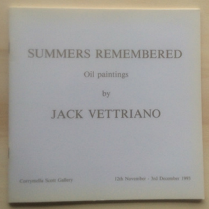 Summers Remembered Jack Vettriano Catalogue