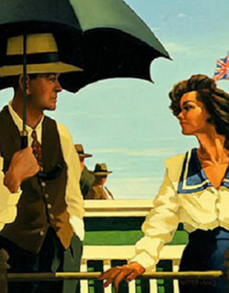 Summertime Blues Open Edition Print Jack Vettriano