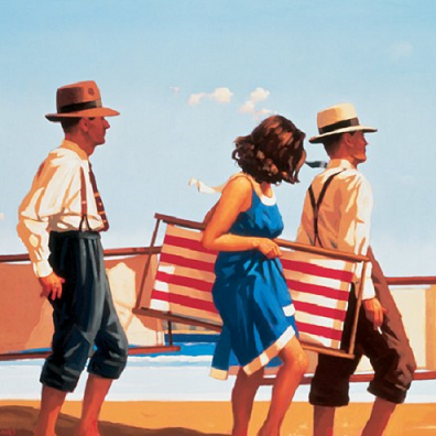 Sweet Bird of Youth Open Edition Print Jack Vettriano