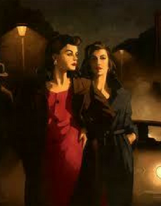 Sweet Is The Night Jack Vettriano