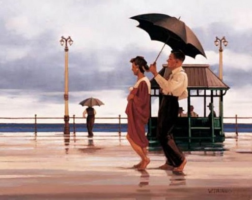 Shape of Things to Come Open Edition Print Jack Vettriano