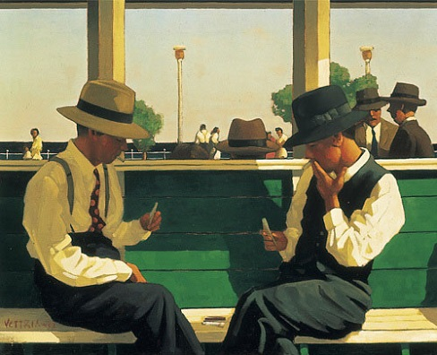 The Duellists  Open Edition Print Jack Vettriano