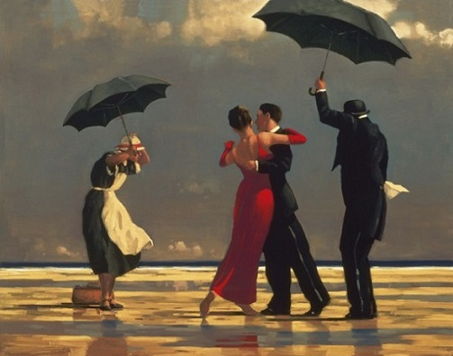 Jack Vettriano The Singing Butler Limited Edition Large Format