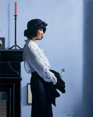 Valentine Rose Jack Vettriano Limited Edition Print