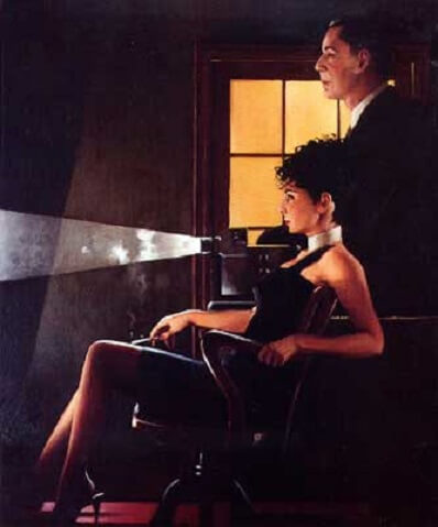 Jack Vettriano An Imperfect Past II