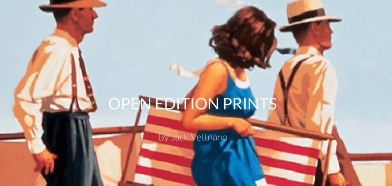 Jack Vettriano Open Edition Prints