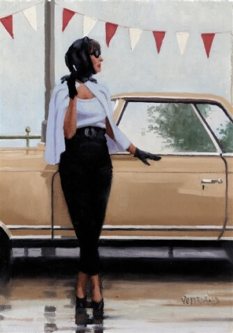 Jack Vettriano Study for Suddenly On Summer