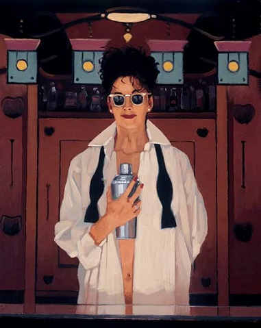 Jack Vettriano The Cocktail Shaker