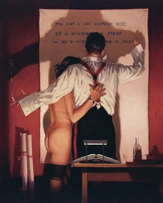 The Great Poet Jack Vettriano Limited Edition