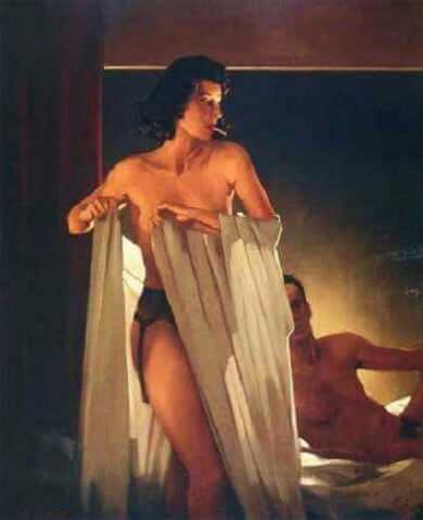 Jack Vettriano Under Cover of the Night