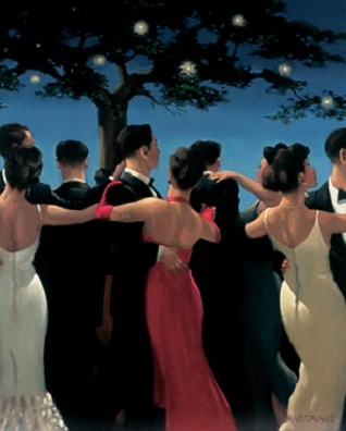 Waltzers Open Edition Print Jack Vettriano