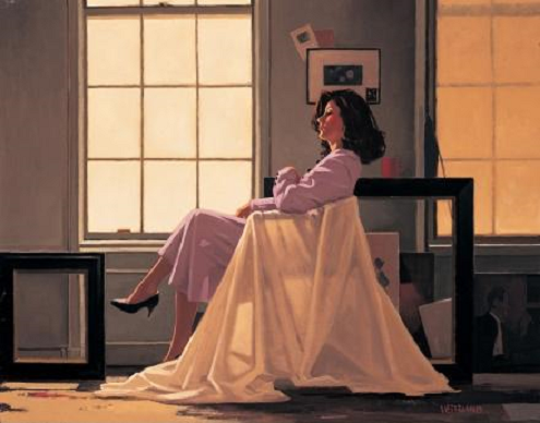 Winter Light & Lavender Jack Vettriano  Artist Proof Limited Edition Print