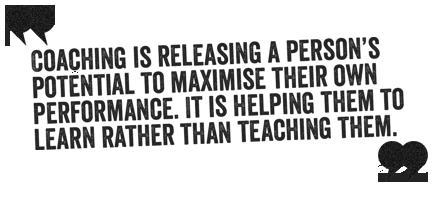 Instructing or coaching?