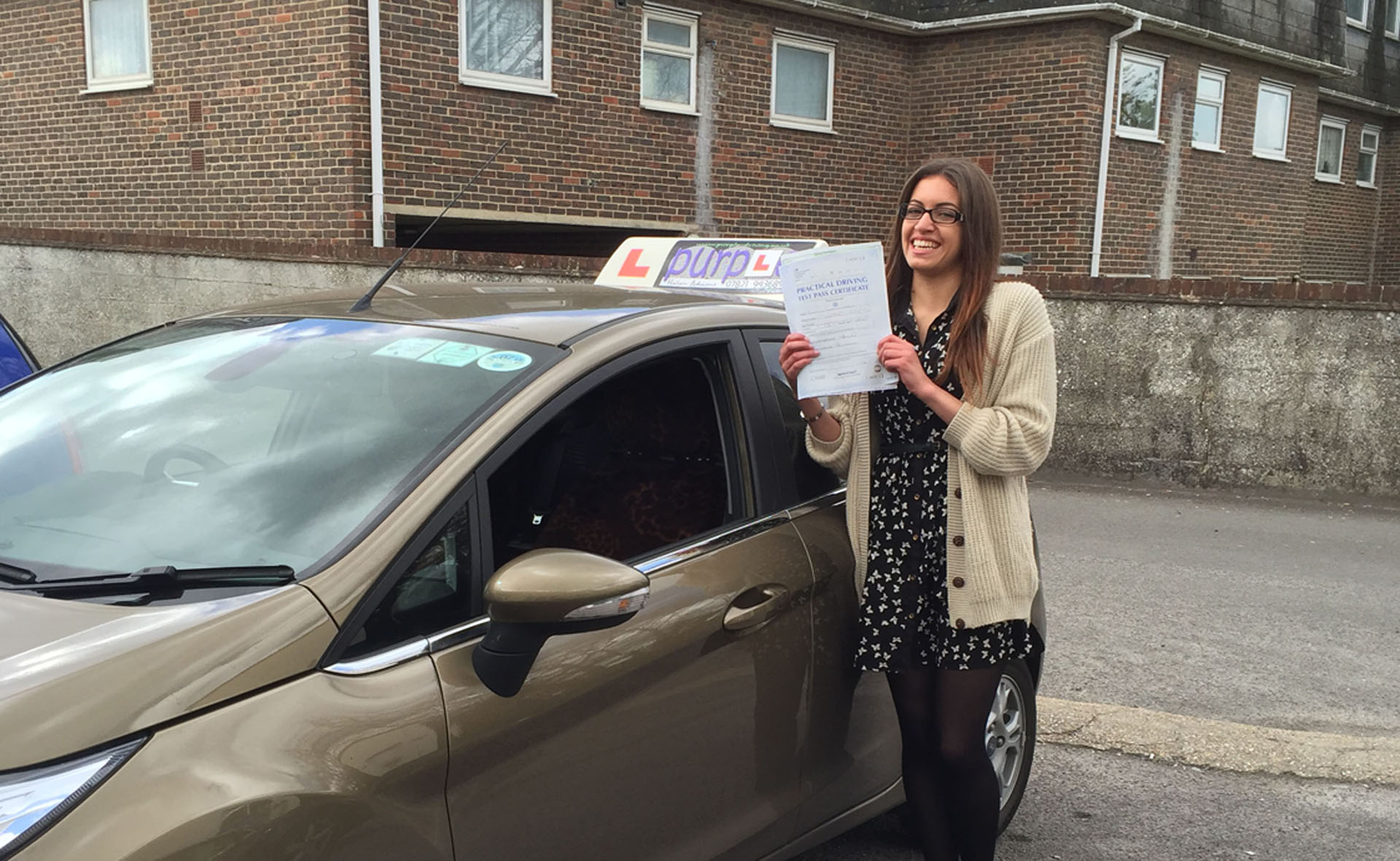 "I'm so glad I failed those two times, as it brought me to you and allowed me to change both my thinking and my driving skills, it now feels like the most natural thing in the world to me! Thank you! :)"" Jemma - 28 April 2015"