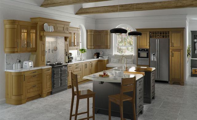Cedarwood Kitchen modern-kitchen