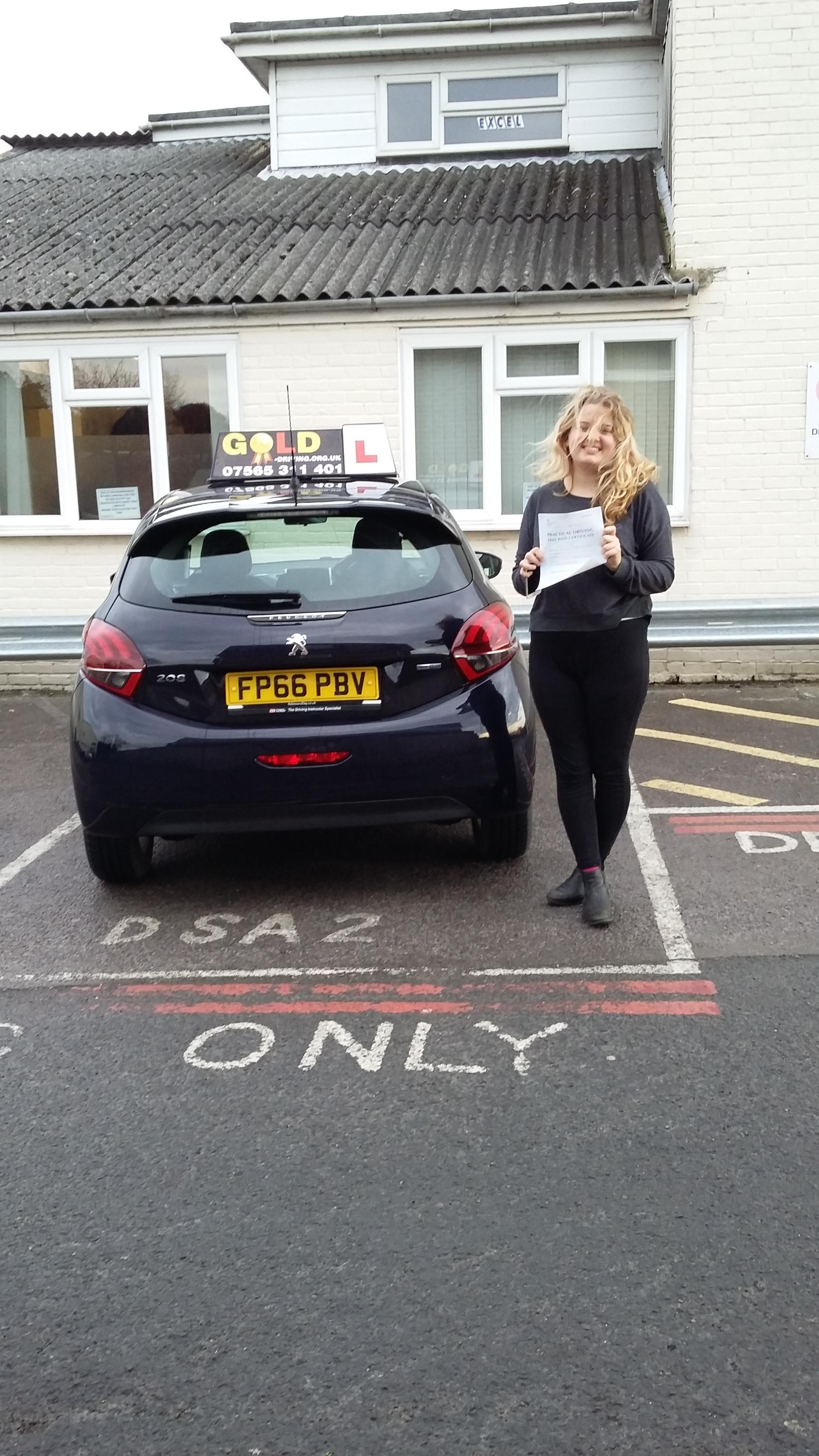 """learning with Russ gave me so much confidence to drive my own car and pass my test first time!"""