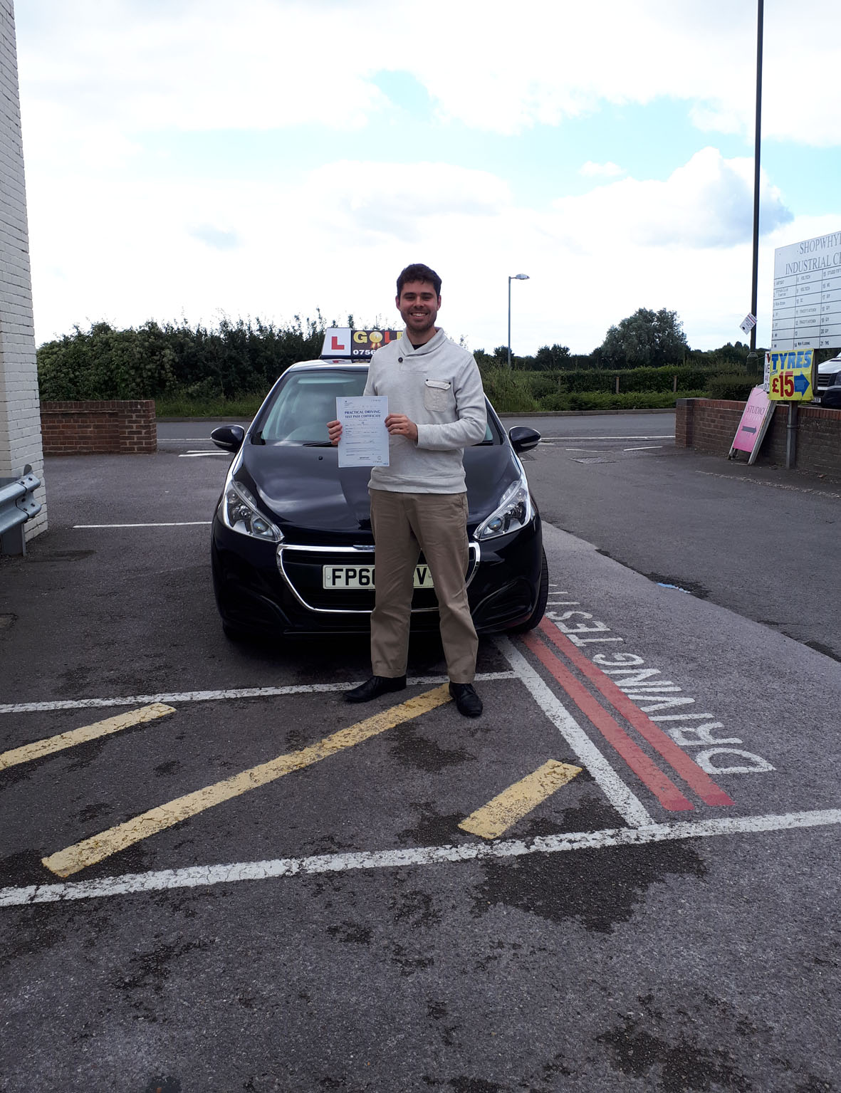 """Russ was the dream driving instructor mixing both patience and a meticulous approach to driving (as well as being very friendly). I was able to pass first time my test at Chichester.  Five stars! """
