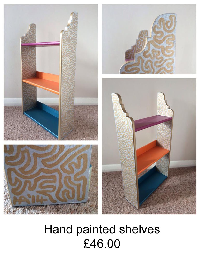 Hand painted furniture by Helen Adams