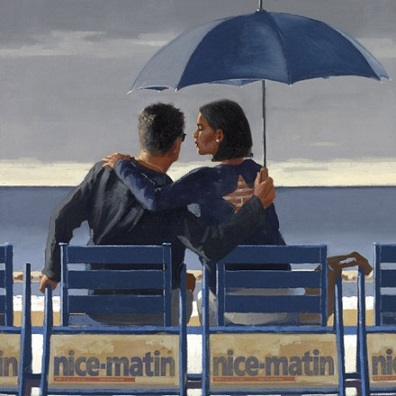 Blue Blue Jack Vettriano Limited Edition Print