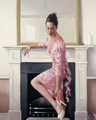 Model In Westwood Jack Vettriano Limited Edition Print